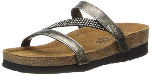 Naot Women's Hawaii Dress Sandal, Metal, 37 EU/6 M US