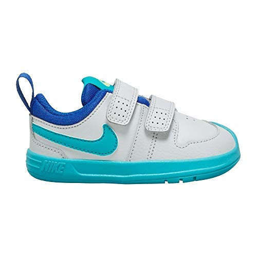 Nike AR4162-003, Sneaker Unisex-Bambini, Photon Dust/Oracle Aqua/Hyper Blue, 21 EU