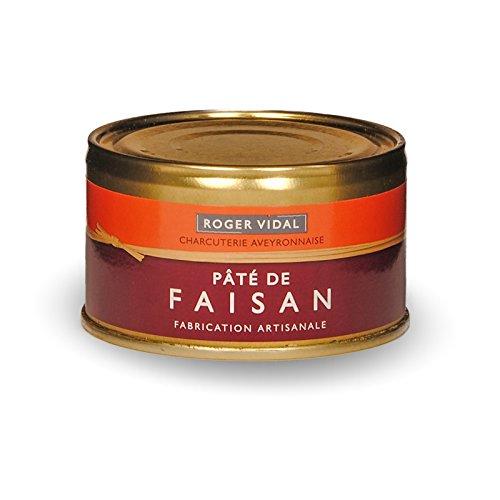 Roger Vidal - Pastete mit Fasan (Pâté de Faisan) 125 g