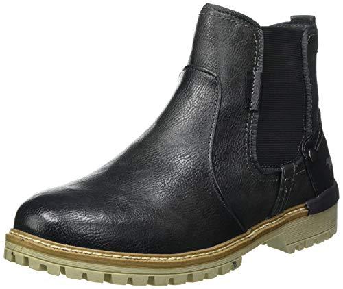 Mustang Herren 4142-501 Chelsea-Stiefel, Grau (259 graphit), 45 EU