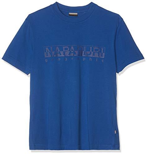 NAPAPIJRI Sevora T-Shirt, Blu (Skydiver Blue Bc5), Small Uomo