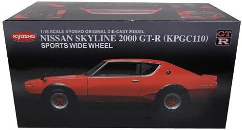 barato y de alta calidad Kyosho kyos08254r Vehículo en en en miniatura Nissan Skyline 2000Gtr Escala 1 18  tienda en linea