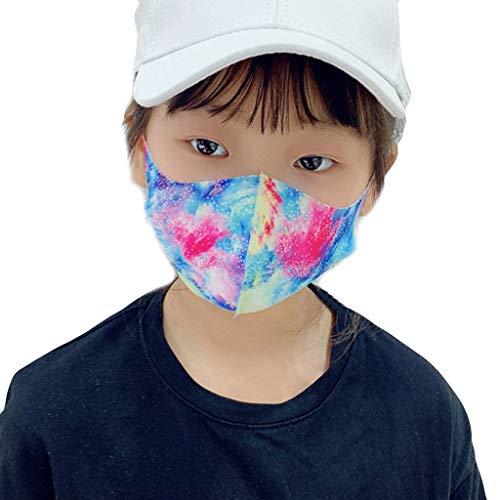Reasoncool 1 PCs Atemschutz Unisex Gesichts Schutz Tröpfchenverschmutzung Hängendes Ohr Bandana Atmungsaktiv Sonnenschutz