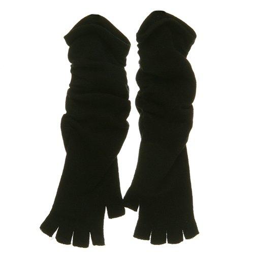Fingerless Long Glove - Black W20S44E - clover