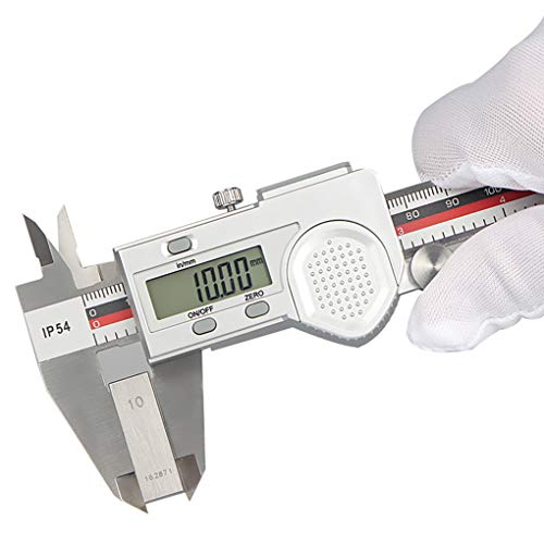 Idyandyans 0-150-200-300Mm Digital Display Caliper Edelstahl Messschieber Edelstahl-Mikrometer Ip54 wasserdichte LCD Caliper