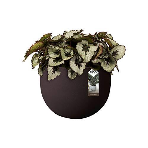 Elho Allure doux 47 – Pot de fleurs, écorce, Marron, 34.7 x 34.7 x 2.42 cm