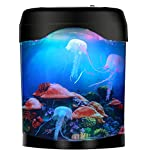 LED Jellyfish Lava Lamp Jellyfish Tank Aquarium Lamp for Home Decoration Gift for Kids Men Women Birthday Christmas Holiday
