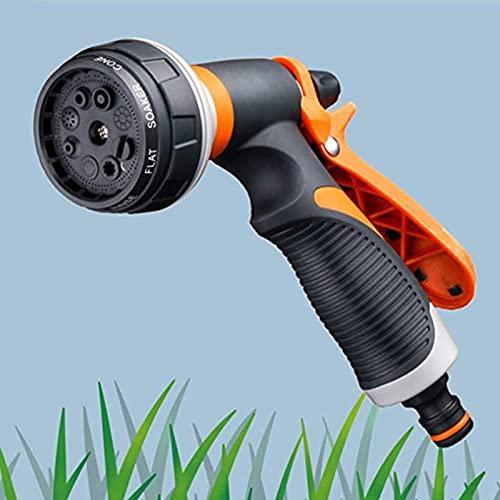 YYHMKBpistola manguera pistola de riego boquilla manguera jardin pistola boquilla rociadora de alta presión para riego de plantas, lavado de autos, baño de mascotas, limpieza de polvo.