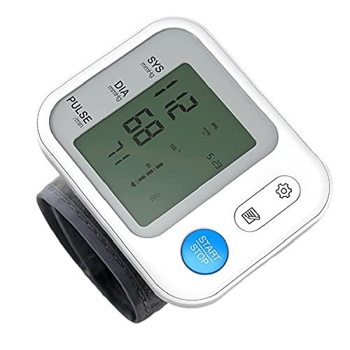 JUYIXIAN Tensiometro De MuñEca Digital Aparato Para Medir La Tension Arterial Manometro Blood Pressure Monitor Aparatos Homologados Medidor Brazo Esfingomanometro Manual blanco