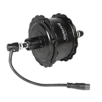48V 750W Bafang Brushless Geared Threaded Hub Motor for Rear Wheel Electric Bicycle Fat Tire 175mm/190mm  Dropout Width  190mm