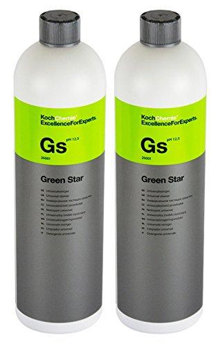 Koch Chemie 2x GS Green Star Universalreiniger Universal Reiniger Pflege 1 Liter
