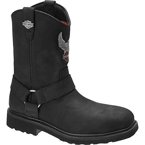 Harley-Davidson Footwear D93636 Stiefel Schwarz, Schuhgröße:EUR 43
