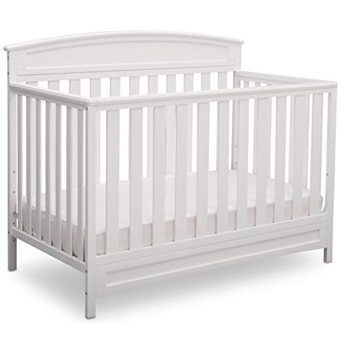 Delta Children Sutton 4-in-1 Convertible Crib - White