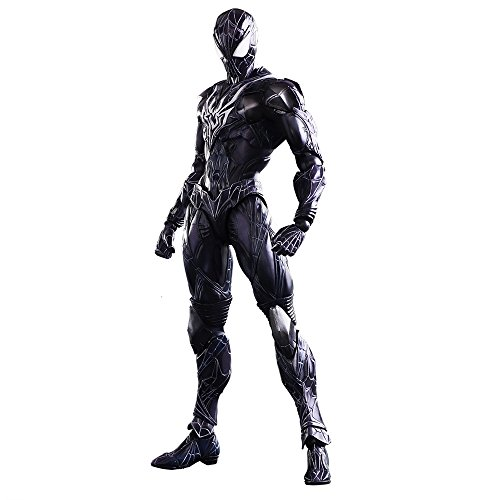 Square Enix Marvel Universe Spider-Man Black Variant Play Arts Kai Action Figure image