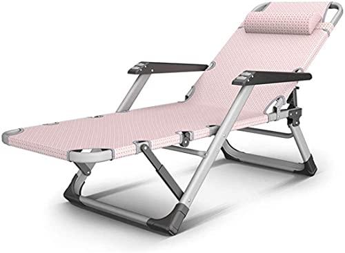 HUAQINEI Tumbonas y sillones reclinables de jardín Silla Rosa Muebles de Exterior...