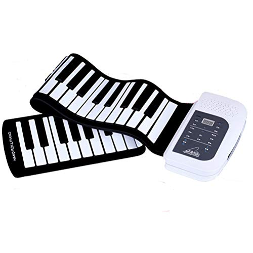 Buy Bargain RUIXFRU Digital Portable 88 Keys Flexible Roll-Up Piano USB MIDI Electronic Keyboard Han...