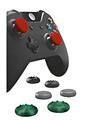 Two styles of silicon grip caps For personal preference: Soft and firm Add extra grip, comfort and extended control to your gameplay Protect your gamepad against sweat, wear and tear due to intensive use Various colors to customize your gamepad Simpl...