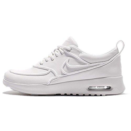 Nike - Zapatillas de Material Sintético para mujer blanco Weis, color blanco, talla 36.5