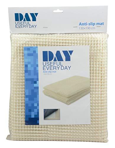DAY - USEFUL EVERYDAY Antirutschmatte für Teppiche, Sofas, Schränke im Badezimmer, Wohnzimmer, Schlafzimmer und die Küche Skandinavisches Design weiß 130X190CM