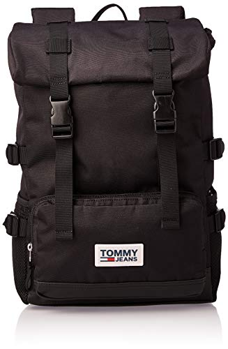 Tommy Hilfiger TJM Urban Varsity Backpack Black