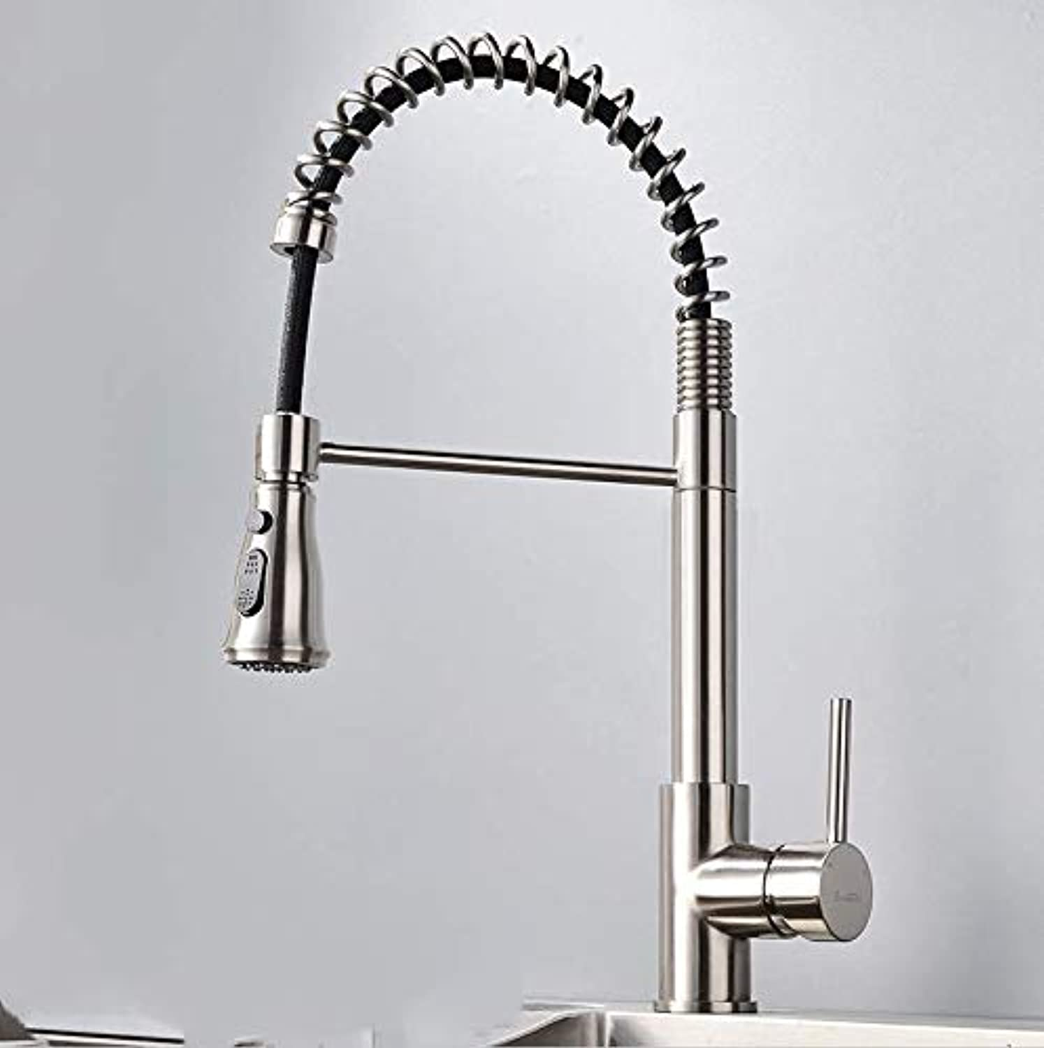 JONTON Hot and cold water faucet all copper kitchen sink hot and cold faucet nest kitchen faucet
