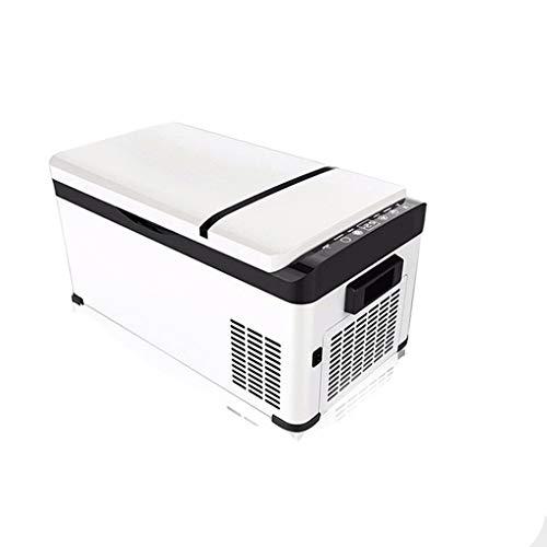 ZHAN YI SHOP Tragbare Kühlschrank, 12V Auto-Kühlschrank Mit Gefrierfach, 20 Liter Kompakt-Kühlschrank Mit Secop Kompressor, Make-Up Kühlschrank for Auto, 0 ℉ -50 ℉, DC 12 / 24V