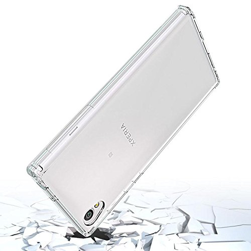 SmartLike Sony Xperia L1 G3311, G3312 Transparent Shockproof Back Cover Clear Thin Case - for Sony Xperia L1 G3311, G3312