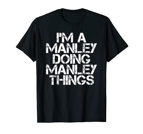 MANLEY - Idea de regalo de cumpleaños para árbol genealógico Camiseta