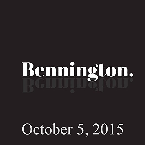 Bennington, October 5, 2015 cover art