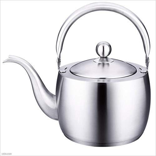 Bouilloire en acier inoxydable, bouilloire, pot, cafetière, théière lavable