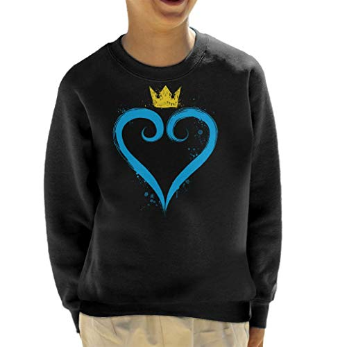 Cloud City 7 Kingdom Hearts Crown Heart Kid's Sweatshirt