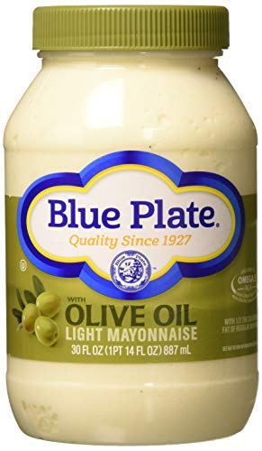 Blue Plate Light Mayonnaise with Olive Oil 30 Oz
