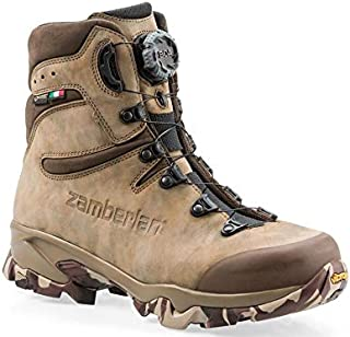 Zamberlan 4014 Lynx Mid GTX RR BOA Hunting Boots Nubuck Leather Men's