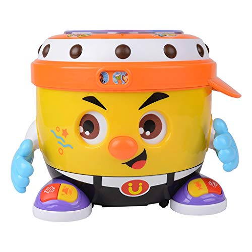 Best Prices! Baby Toys Musical Drums Early Education Toy Various Sounds/Music/Light/Funny Baby Sound...