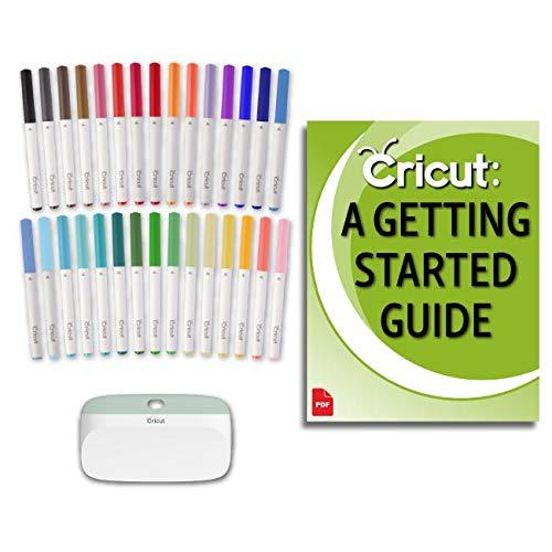 Cricut Beginner Bulk Pen Set, Essential Craft Tool, and Design Space Guide