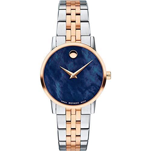 Movado Women's Museum Classic 28mm Steel Case Swiss Quartz Watch 0607268