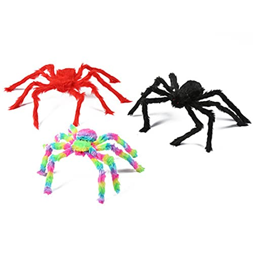 YYRAIN Decorazioni da Parete per La Casa delle Vacanze di Halloween Colorate Ragno Appeso A Parete Decorazioni da Appendere alla Parete del Banchetto