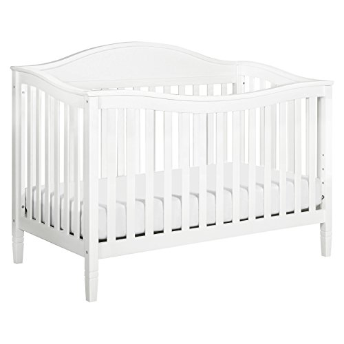 Find Cheap DaVinci Laurel 4-in-1 Convertible Crib in White Finish