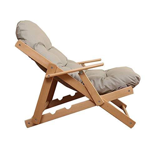 WSDSX Freizeit Bürostuhl Sun Loungers Chair Klappbare Rückenlehne Relax Armchair 3 Position Verstellbar Outdoor Longue Strong Langlebig stark