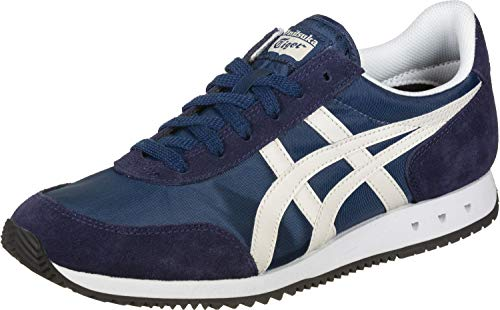 Onitsuka Tiger Unisex New York Laufschuh, Independence Blue/Oatmeal, 43.5 EU