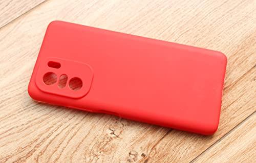 Capa Case Silicone Para Novo Xiaomi Redmi Note 10 4g - Vermelho