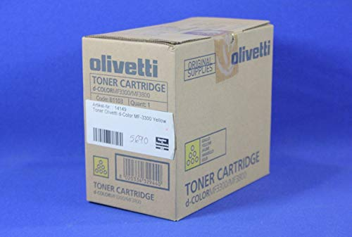 Olivetti B1103 cartucho de tóner Original Amarillo 1 pieza(s) - Tóner para impresoras láser (10000 páginas, Amarillo, 1 pieza(s))