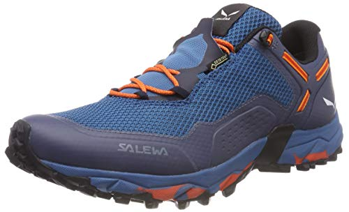 Salewa Herren MS Speed Beat Gore-TEX Traillaufschuhe, Premium Navy/Spicy Orange, 46 EU