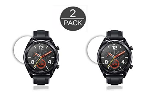 M.G.R.J® Tempered Glass Screen Protector for Huawei Watch GT/GT Active (2-Pack)