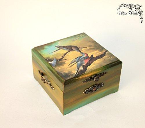 Exklusive Teebox ,Tee, Tea, Teebeutel ,Teekiste , wood