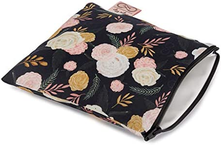 Chelsea Cole For Itzy Ritzy Reusable Snack Bag 7 x 7 BPA Free Snack Bag is Food Safe Washable product image