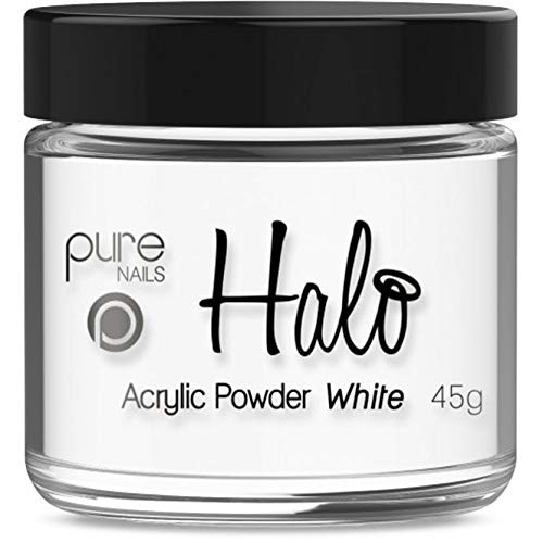 Halo By Pure Nails Acrylic Powder WHITE 45g