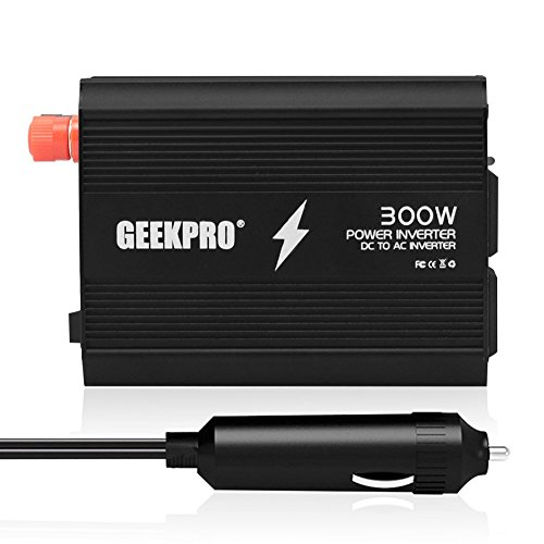 Check Out This GEEKPRO® 300W Power Inverter Dual 110V AC Outlets Car Power Inverter DC 12V to 110V ...