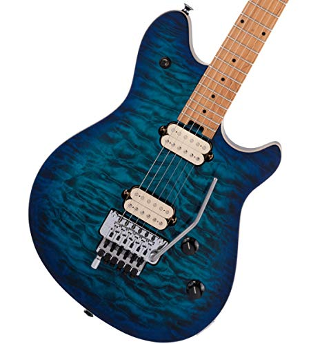 EVH Wolfgang Special QM Baked Maple Chlorine Burst Electric Guitar