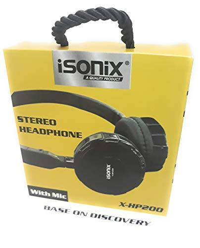 ISONIX X-HP200 Wired Headphone with Mic